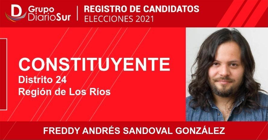 Freddy Andrés Sandoval González