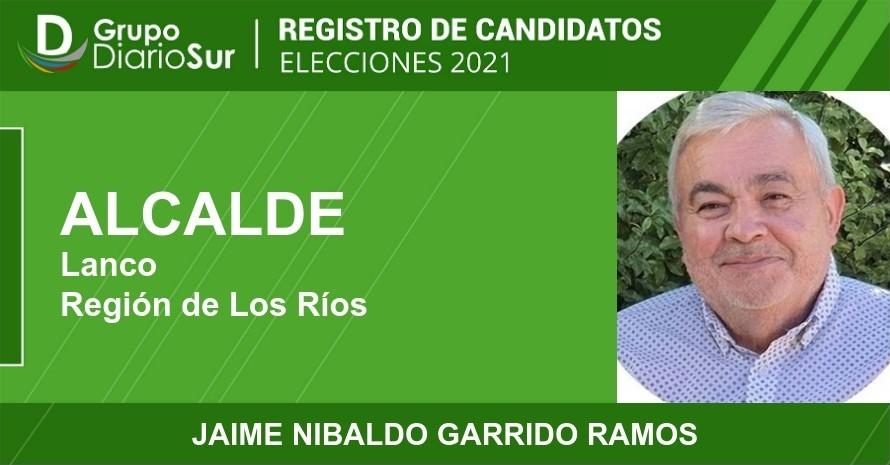 Jaime Nibaldo Garrido Ramos