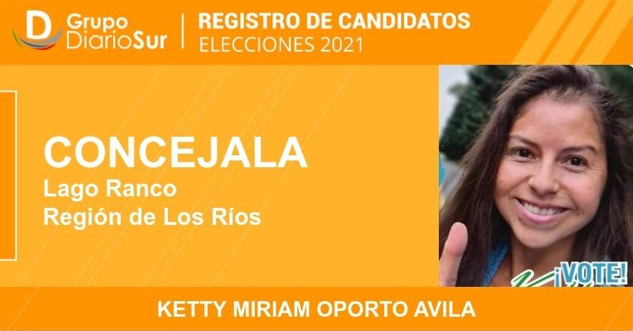 Ketty Miriam Oporto Avila