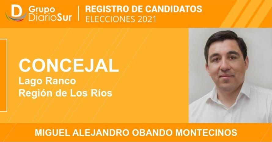 Miguel Alejandro Obando Montecinos