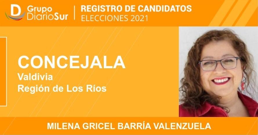 Milena Gricel Barría Valenzuela