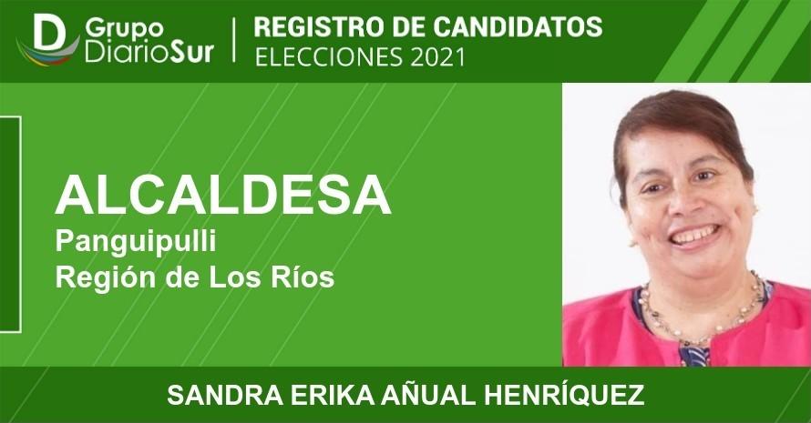 Sandra Erika Añual Henríquez