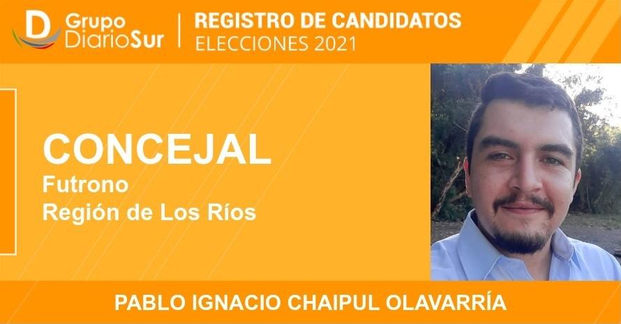 Pablo Ignacio Chaipul Olavarría