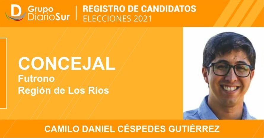 Camilo Daniel Céspedes Gutiérrez